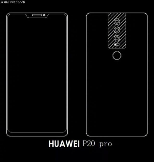 Новые изображения подтвердили компоновку строенной камеры Huawei P20