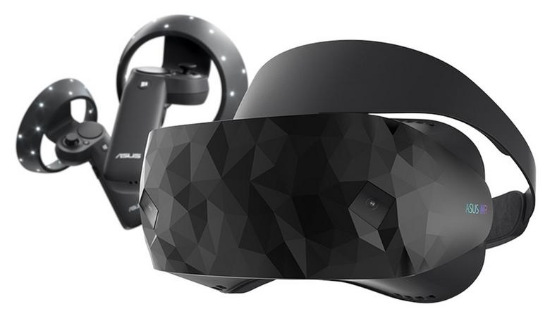 ASUS выпустила VR-гарнитуру Windows Mixed Reality Headset HC102