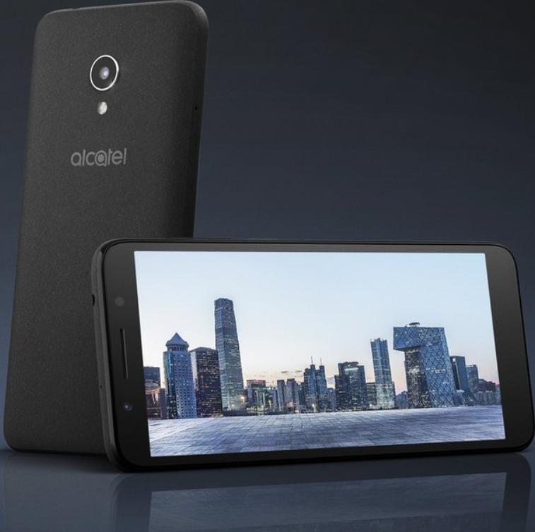 Alcatel представила полноэкранный смартфон на«чистом» андроид за100евро