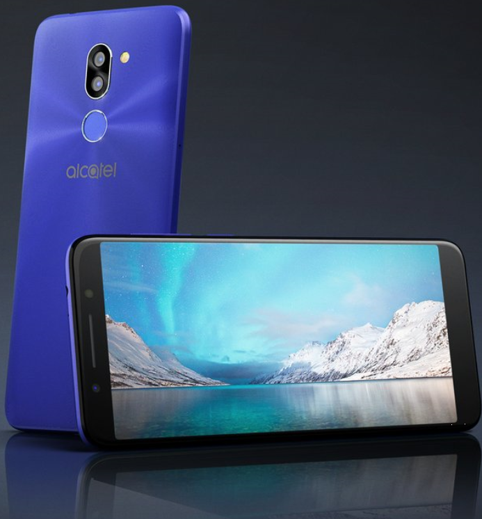 Alcatel представила наMWC 2018 бюджетные смартфоны 3, 3X, 3V и5