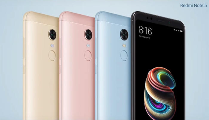 смартфоны Xiaomi Redmi Note 5 и Redmi Note 5 Pro представлены официально