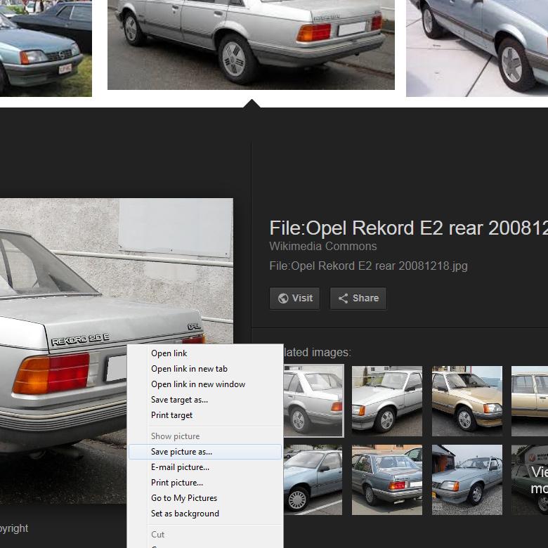 Google отключила возможность просмотра изображений вполном размере при поиске картинок