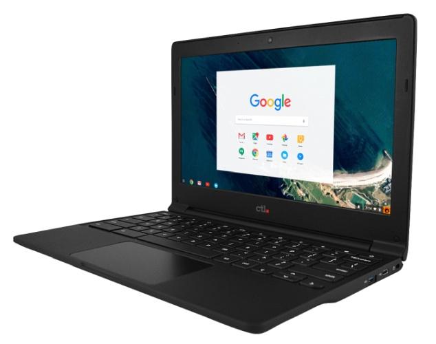 CTL представила мобильный ПК Chromebook J41