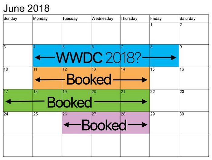 Конференція Apple WWDC 2018 пройде 4-8 червня, на ній можуть показати iOS 12, iPad X і iPhone SE 2