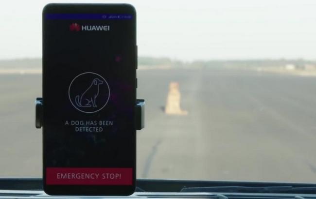 Смартфон Huawei Mate 10 Pro использовали для управления автомобилем Porsche Panamera
