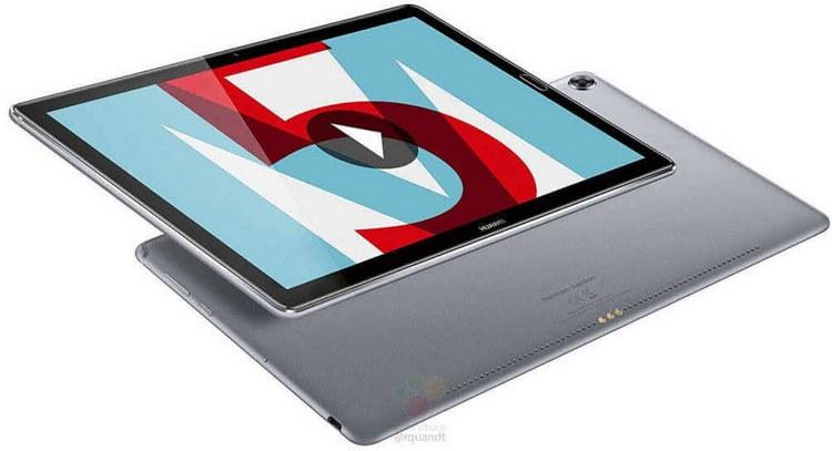 Раскрыты характеристики идизайн Android-планшета Huawei MediaPad M5 10 (Pro)