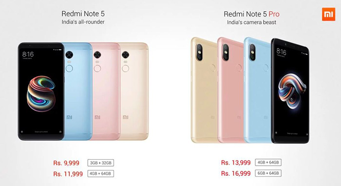 Xiaomi Redmi Note 5 Pro, цена
