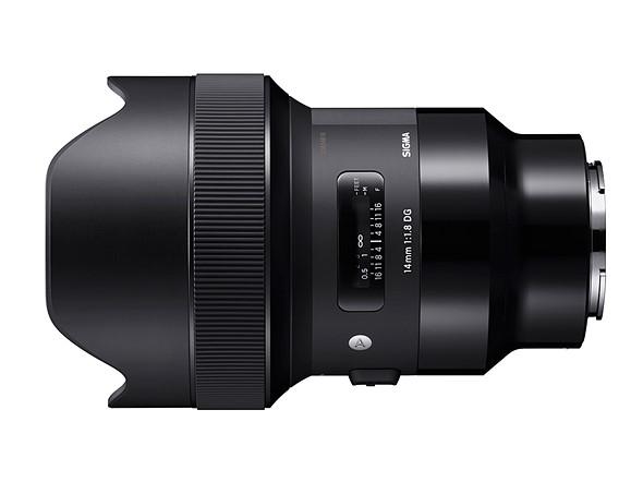 Анонсирован выпуск девяти полнокадровых моделей объективов Sigma DG HSM | Art с креплением Sony E