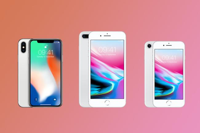 Apple планирует увеличить экраны новых iPhone доразмера Galaxy Note 8