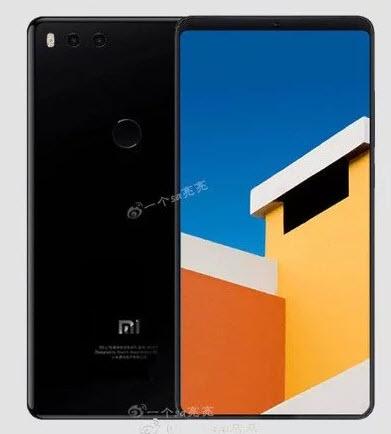 Опубликовано новое изображение смартфона Xiaomi Mi 7