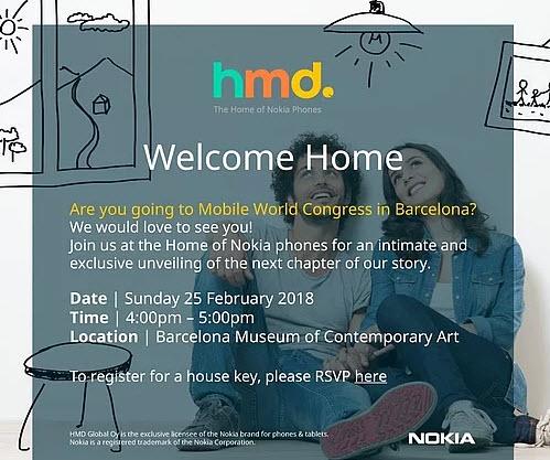 Nokia представит новые смартфоны 25 февраля