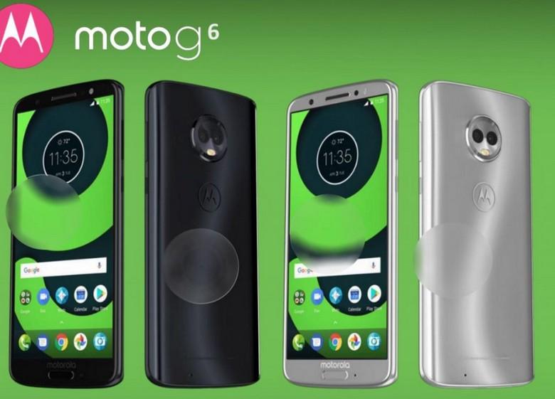 Появились изображения смартфонов Moto X5, Moto G6, G6 Plus и G6 Play