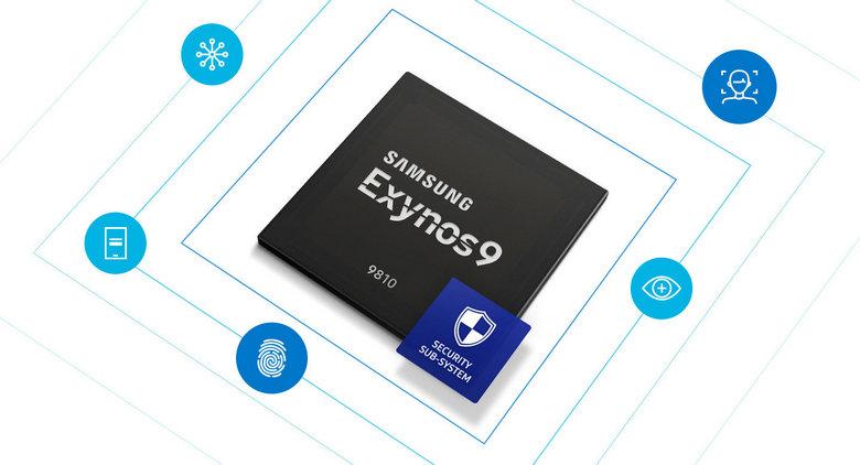 Самсунг представила флагманский чип Exynos 9810 споддержкойИИ