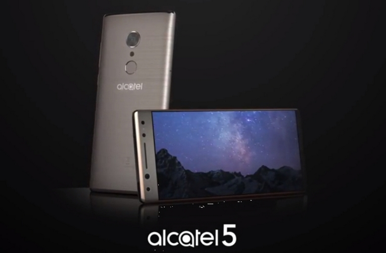 Смартфон Alcatel 5 получит SoC MediaTek MT6750