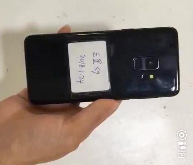 Видео дня: смартфон Samsung Galaxy S9