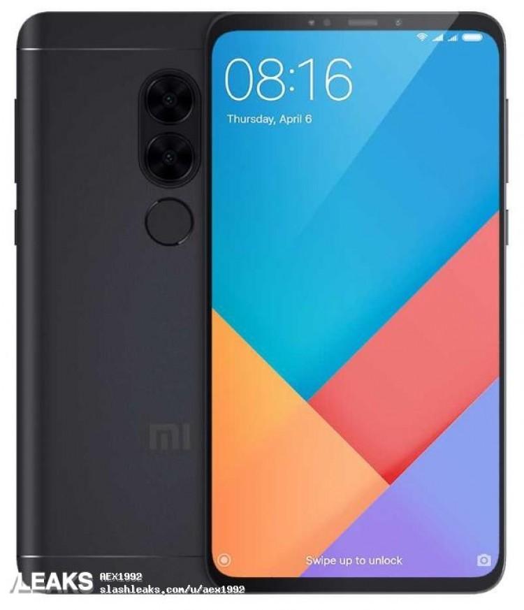 Свежее изображение смартфона Xiaomi Redmi Note 5 демонстрирует новый дизайн
