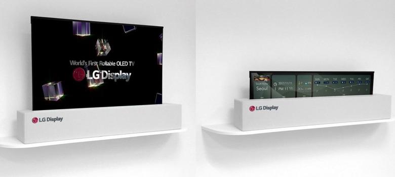Разработка включена в экспозицию LG Display на CES 2018
