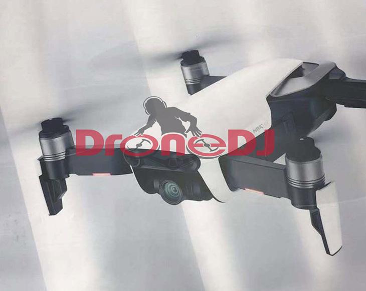 DJI представила новый складной дрон Mavic Air