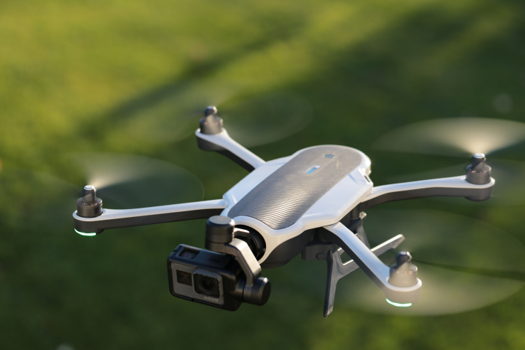 GoPro закончит производить дроны иуволит неменее 20% служащих