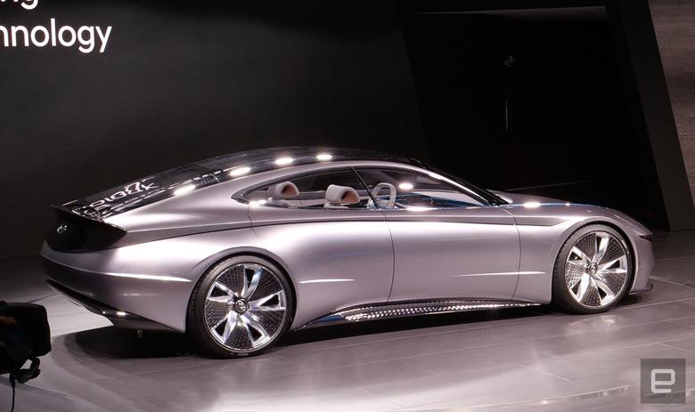 Le Fil Rouge дает представление, как будут развиваться электромобили Hyundai