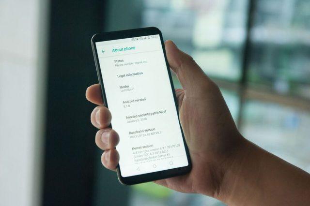 Umidigi A1 — первый смартфон с MediaTek MT6739 и Android 8.1