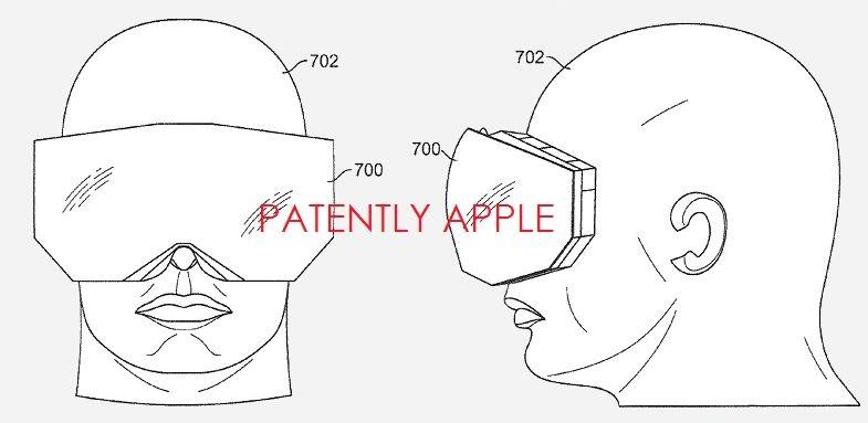 Apple патентует частичное обновление изображения в гарнитурах AR и VR