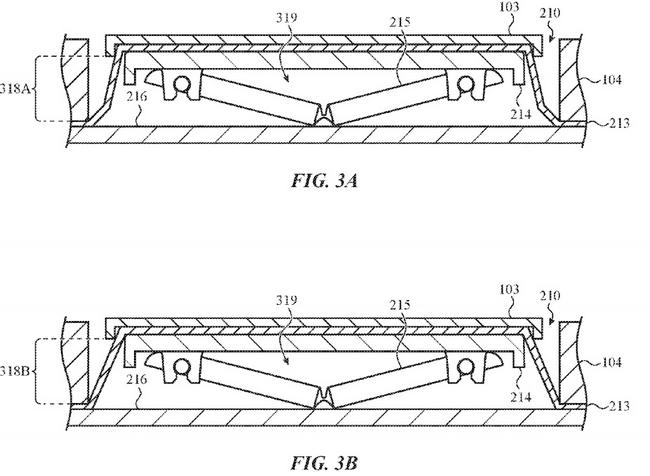 Apple запатентовала клавиатуру для MacBook с защитой от крошек и пыли
