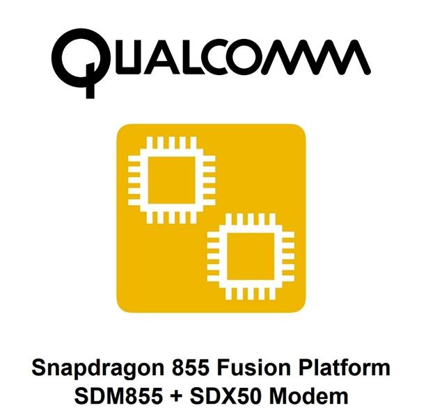 Монокристаллическая платформа Qualcomm Snapdragon 855 Fusion получит поддержку 5G