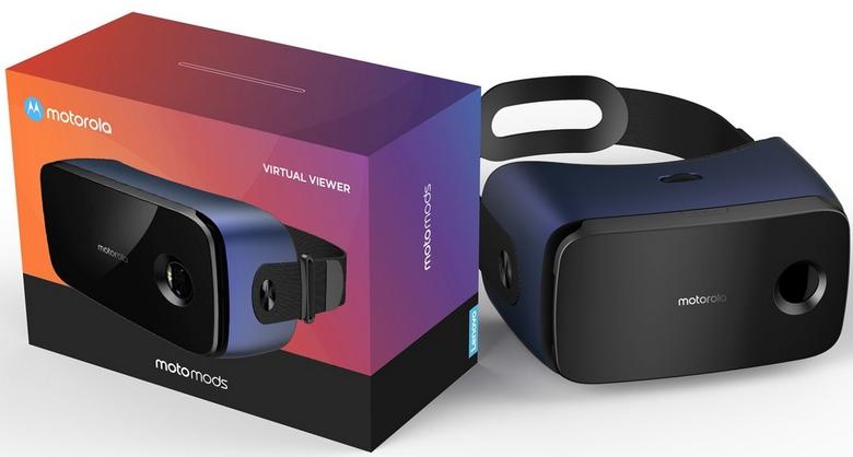 Motorola готовит шлем VR в виде модуля MotoMods