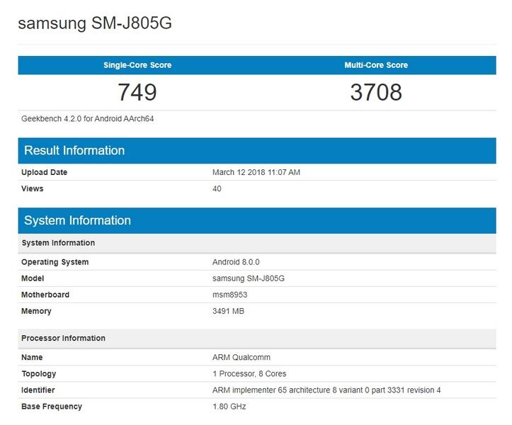 Смартфон Samsung Galaxy J8+ получит либо Exynos 7870, либо Snapdragon 625