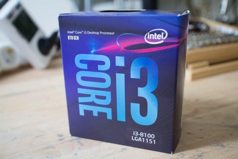 Процессор Intel Core i3-8100 удалось заставить полноценно работать ...