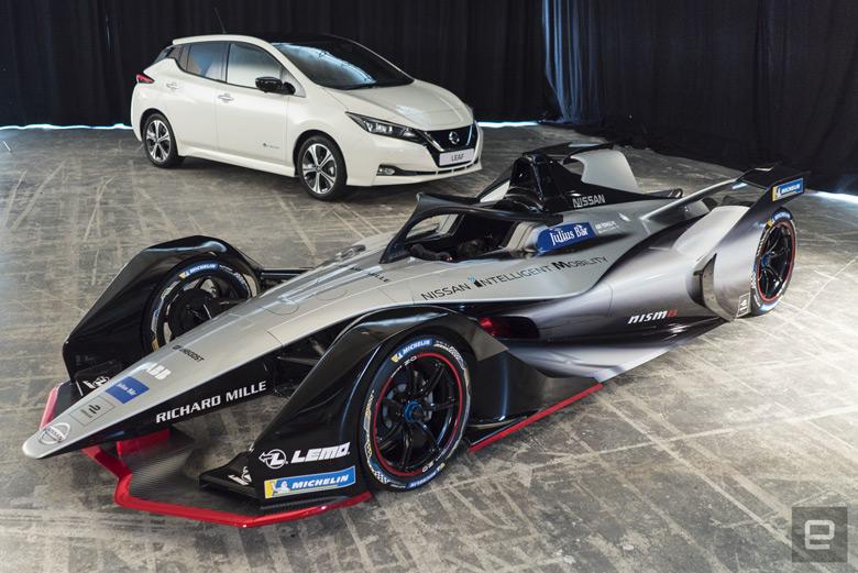 Представлен электромобиль, с которым Nissan в этом году дебютирует в гонках Formula E