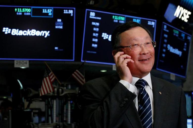 Джон Чен (John Chen) пришел в BlackBerry в ноябре 2013 года