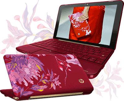 Начались продажи дизайнерского нетбука HP Mini 1000 Vivienne Tam Edition.