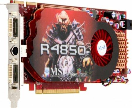 Видеокарта MSI RX4850-2D512ВD3 мнения, отзывы, комментарии владельцев.