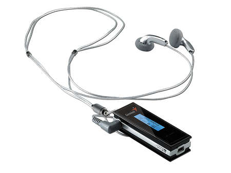 Дебютная модель компании, Genius MP3-DJ, представляет собой компактный плеер с интегрированным FM-тюнером.