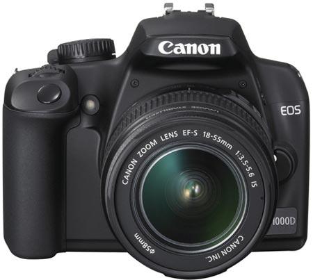 Canon EOS 1000D - названы цены, и они пугают; выпуск EOS 400D прекращен.