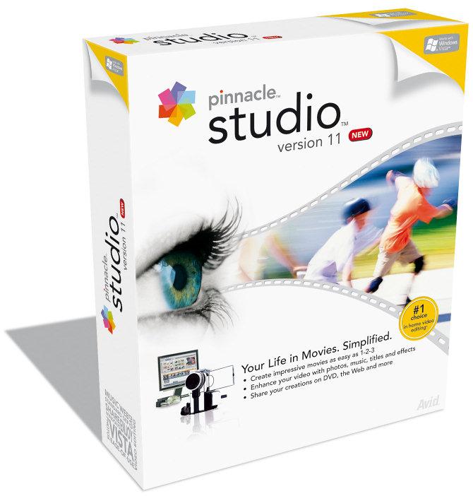 Pinnacle Studio 11.