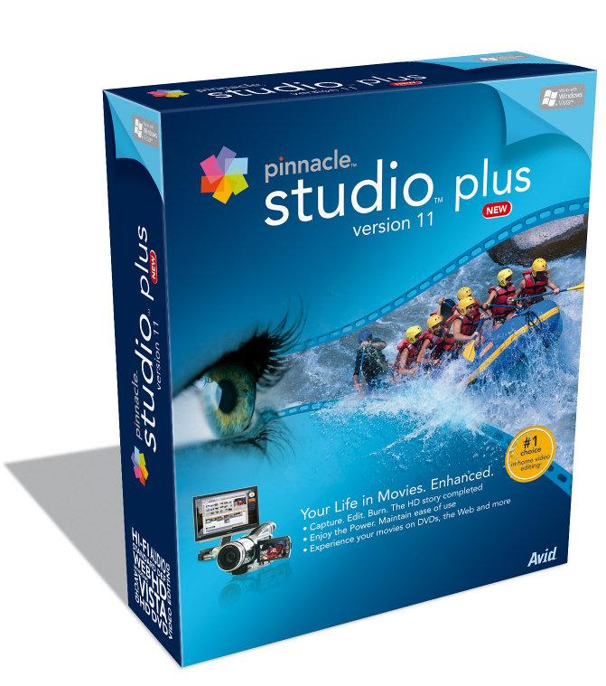 Pinnacle Studio Plus 11.