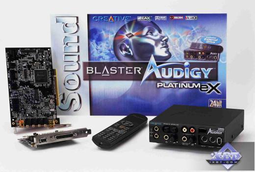 Sound Blaster Audigy Platinum eX