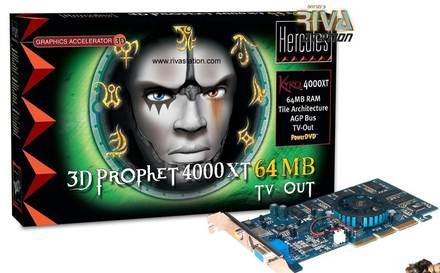 3D Prophet 4000XT 64 Мб