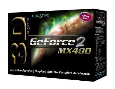 3D Blaster GeForce2 MX400 32MB AGP