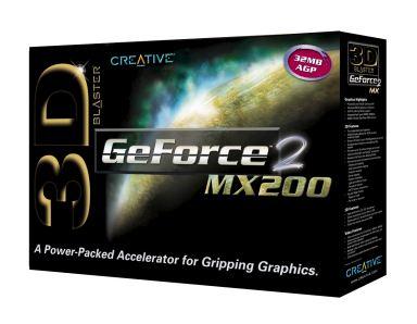 3D Blaster GeForce2 MX200 32MB AGP