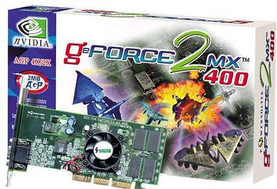 GeForce 2 MX 400 от Soltek