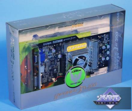 Platinum GeForce3 Ti200 от SUMA