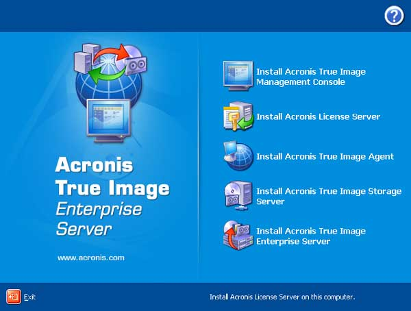 Acronis true image server