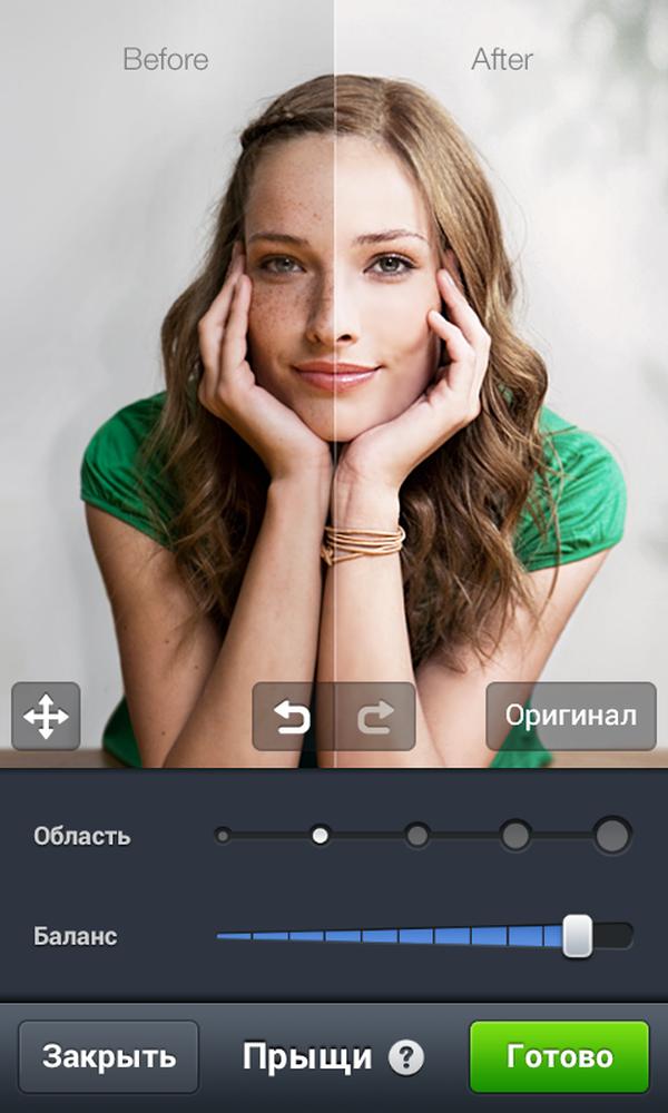Селфи программа на русском на андроид