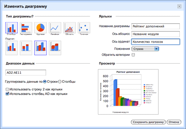 Электронная Таблица Google - фото 11