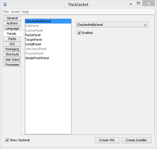 PackJacket, GUI-надстройка для IzPack