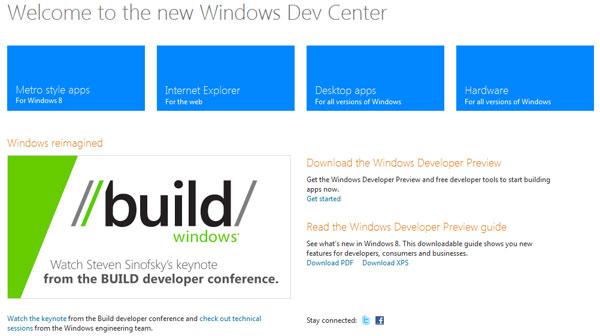 Сайт Microsoft для разработчиков, с которого можно скача <!--
